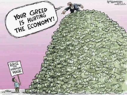 Image: Your Greed is Hurting the Economy | Americans for Political Change | Scoop.it