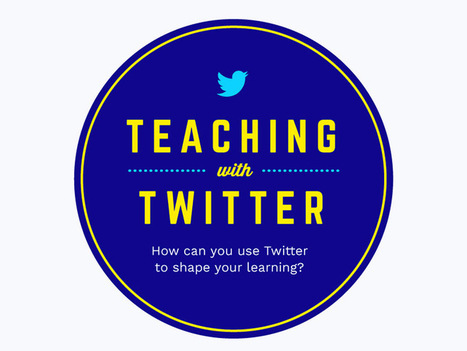 5 Authentic Roles For Twitter In Your School | Technology to Teach | Scoop.it