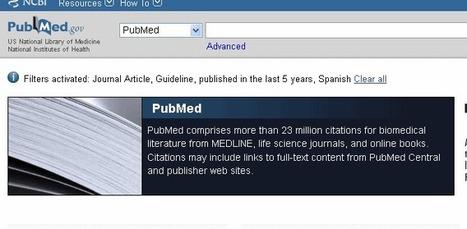 Búsqueda bibliográfica sistemática en biomedicina (3/5): Selección de bases de datos y búsqueda | Bibliotecas y Documentación | Scoop.it