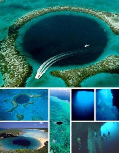 Twitter / NatGeoImages: Increíble Agujero Azul en ...   viajes   Scoop.it
