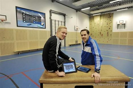 Oldenzaalse docenten introduceren iPad in gymlokaal - Tubantia   Bewegingsonderwijs   Scoop.it