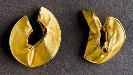 Ancient gold artefacts uncovered in north Wales | Centro de Estudios Artísticos Elba | Scoop.it