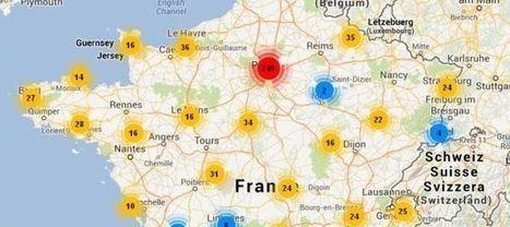 Cartographie littéraire de la France | Site Magister | Scoop.it