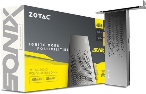 Zotac SONIX 480GB PCIe NVMe SSD Review - ThePCEnthusiast | PC Enthusiast | Scoop.it
