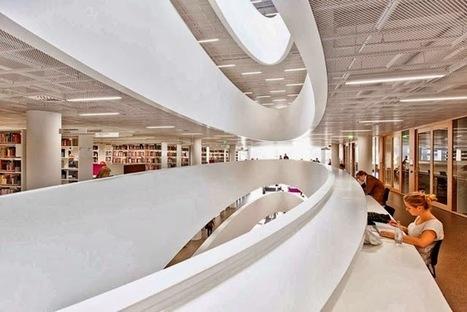 ARCHITECTURE BIBLIOTHEQUE UNIVERSITAIRES HELSINKI   Génie civil et Travaux Publics Engineering   Architecture et aménagement en bibliothèque   Scoop.it