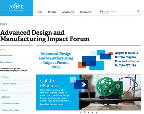 Advanced Design and Manufacturing Impact Forum - ASME | Manufacturing In the USA Today | Scoop.it