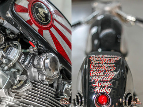 Krugger Tribute to Japan Honda CB450 | Cafe Racers | Scoop.it