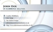 Business card template Disco | Cheap Business Cards | UK Ecommerce Software Solutions | Online Shopping cart | Scoop.it