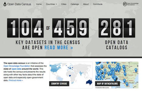Open Data Census: Help assess the state of open government data | Open Knowledge Foundation Blog | Open Knowledge | Scoop.it