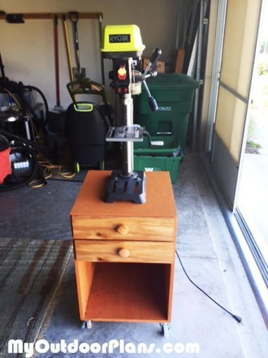 DIY Drill Press Stand | MyOutdoorPlans | Free Woodworking Plans and Projects, DIY Shed, Wooden Playhouse, Pergola, Bbq | Garden Plans | Scoop.it