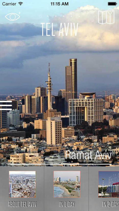 App Shopper: Tel Aviv Travel Guide - Augmented Reality with Street and Transport Map 100% Offline - Tourist Advisor for your trip to the city (Travel)   Location Is Everywhere   Scoop.it