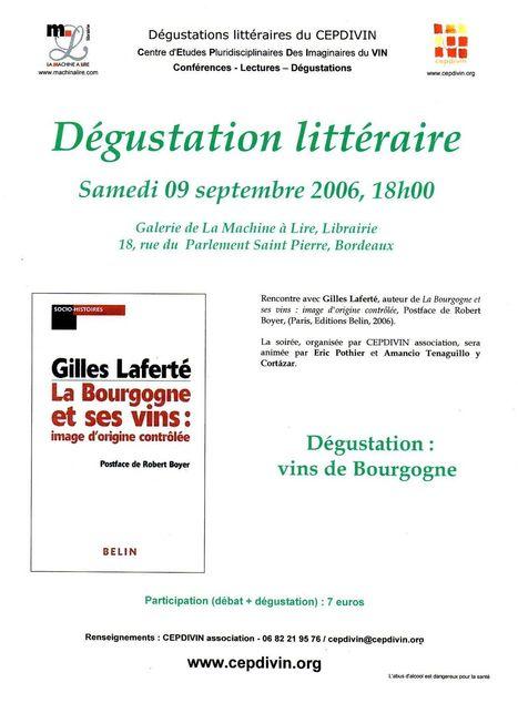 Dégustation littéraire : La Bourgogne et ses vins : image d'origine contrôlée   CEPDIVIN - Les Imaginaires du Vin   Scoop.it