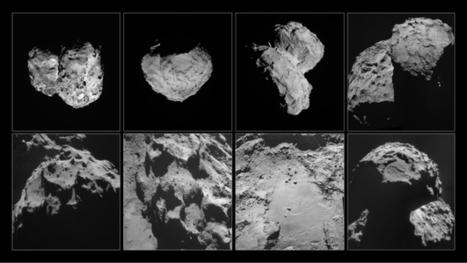 Ça se passe là haut...: La comète Churyumov-Gerasimenko n'est pas creuse | C@fé des Sciences | Scoop.it