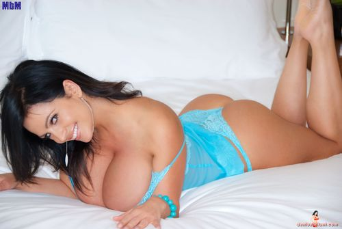 Denise Milani Massive Tits Fake