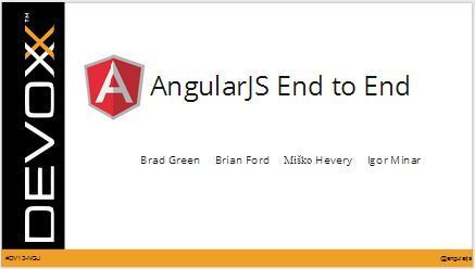 AngularJS End to End | Angularjs technical design | Scoop.it