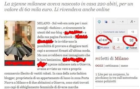 Quando i giornalisti parlano di fashion blogger | Maurizio Galluzzo | È la bruttezza, stampa! | Scoop.it