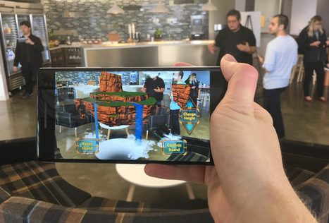 Google launches Tango AR smartphone system | BT | Scoop.it
