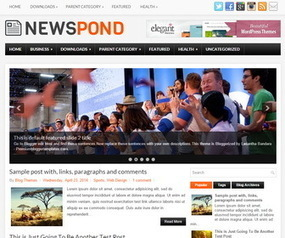 NewsPond Blogger Template | Blogger Templates | Scoop.it