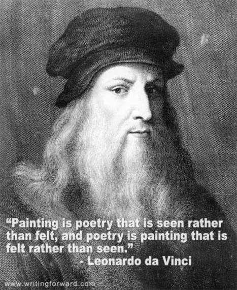 Quotes on Writing: Leonardo da Vinci | Litteris | Scoop.it