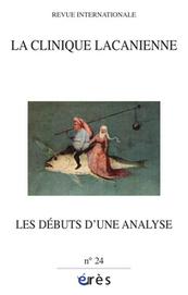 Revue La clinique lacanienne 2013/2, Les débuts d'une analyse - Cairn.info | Orion, la mythologie, la psychanalyse & Freud | Scoop.it