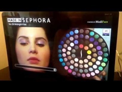 An Augmented Reality Mirror Lets You Test Makeup Without Putting It On | Digital Marketing Power | Scoop.it