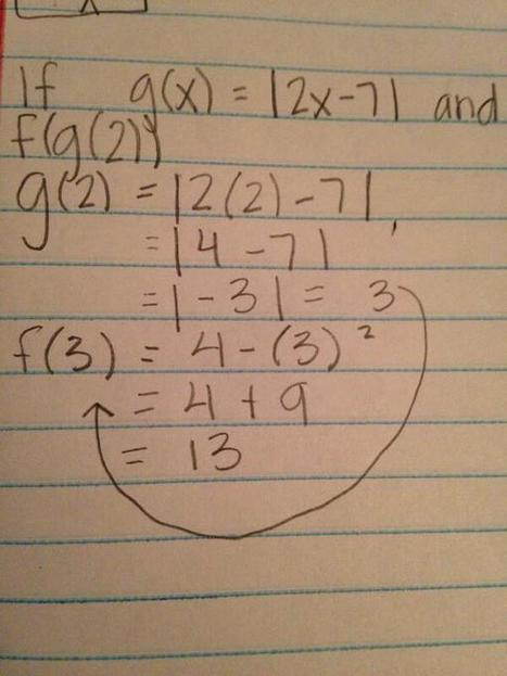 Twitter / taytumpierce: algebra 2 or death?¿? ... | Wonders of math | Scoop.it