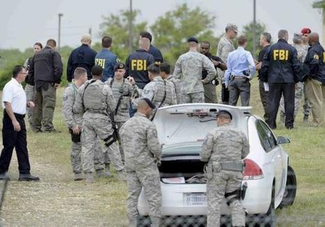 USAF commander 'went out swinging' in Texas base shooting   Police Problems and Policy   Scoop.it