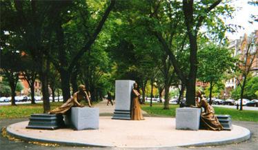 Boston's Women Memorial | City of Boston | Boston Women | Scoop.it