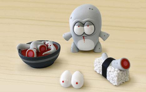 O-No Sushi, un Art Toy pour ceux qui ont du goût ! | Jeux store | Scoop.it