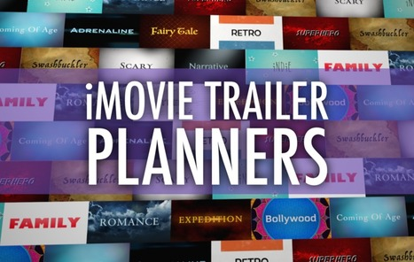 Plan a Better iMovie Trailer with These PDFs | Technology in K-12 Education | Scoop.it