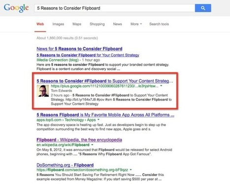 Google+, Social Search & The Circle Impact Theory « iMediaConnection Blog | Digital Strategies for Social Humans | Scoop.it