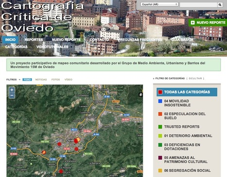 Cartografía crítica de Oviedo   Los mapas del #15M   Scoop.it