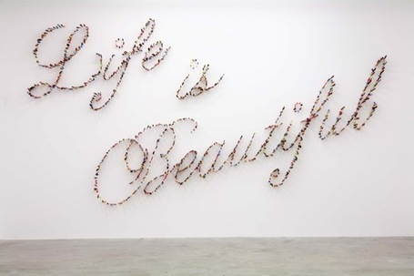 Farhad Moshiri: Life is Beautiful | Art Installations, Sculpture | Scoop.it