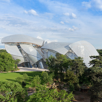 Frank Gehry's Fondation Louis Vuitton gets set to open in Paris | Architecture and Architectural Jobs | Scoop.it