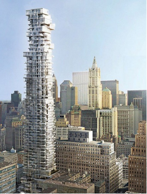 WATCH Herzog & de Meuron's 56 Leonard Take Shape in New York | The Architecture of the City | Scoop.it