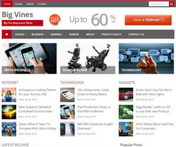 Share BigVines Blogger Theme Responsive tin tức đẹp, load nhanh | Blogger Template for Seo | Free Download Blogger Templates | Blogger themes | Scoop.it