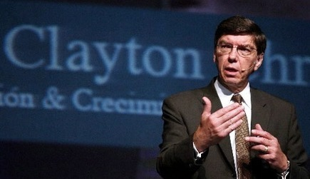 « La disruption est une transformation irréversible du capitalisme » (Clayton Christensen) | Economie de l'innovation | Scoop.it