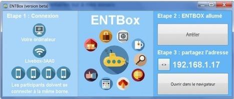 Amis de l'Education: Téléchargement et installation d'ENTBOX | Ressources pour la Technologie au College | Scoop.it