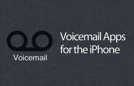 Best Voicemail iPhone Apps Reviewed for You | All About Apple iPhone,Mac Book,Apple Watch | Scoop.it