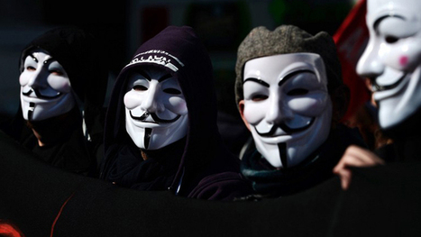 Anonymous protests outside Ohio court as rape trial begins   How is activism being shaped by the internet?   Scoop.it
