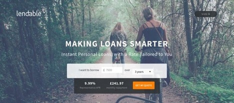 Lendable Raises £2.5M As P2P Lending Market Shows No Signs Of Cooling | P2P and Social Lending: Global Trends | Scoop.it