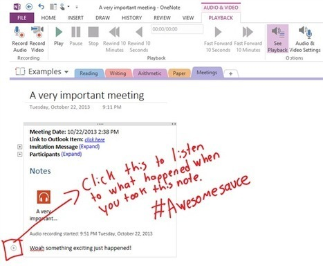 Top 10 things you didn't know about OneNote | OneNote | Scoop.it