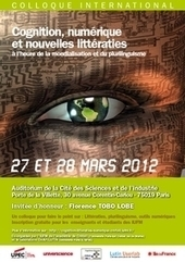 Colloque international Cognition, numérique et nouvelles littératies | Design FLE - français langue étrangère | Scoop.it