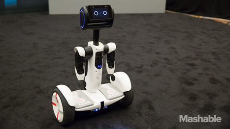 Up close with Segway's new personal robot | Digital Culture | Scoop.it