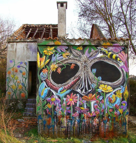 The Most Refreshing Street Art by Violant ~ Cool Stuff Directory | World of Street & Outdoor Arts | Scoop.it