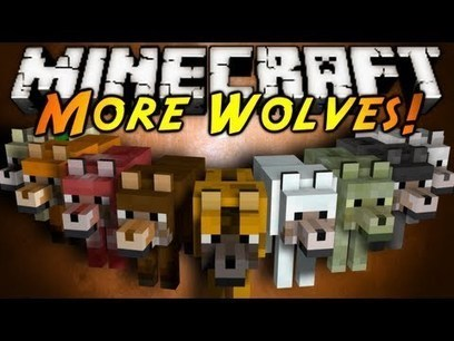 More Wolves Mod for Minecraft (1.8/1.7.10/1.7.2) | MinecraftMods | Scoop.it