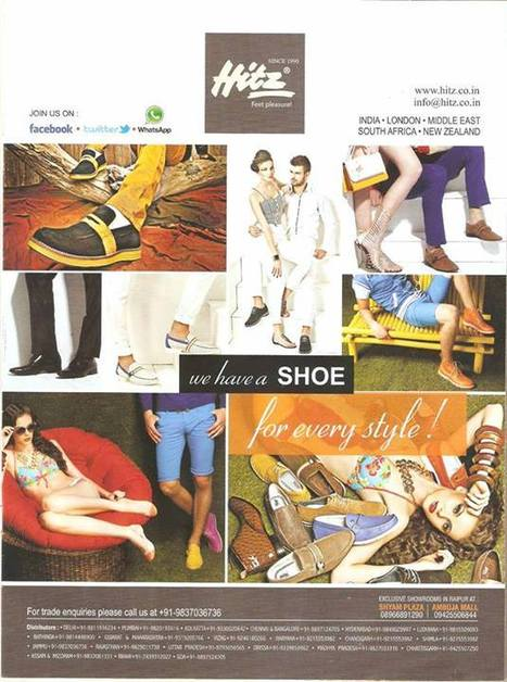 Your favouriet brand Hitz featured at Cosmopolitan,s Fashion Editorial | Hitz Men Shoes | Scoop.it