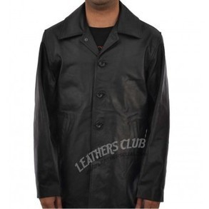 Supernatural Dean Winchester Black Leather Coat | The most wanted apparel leather jacket is on your way | Scoop.it