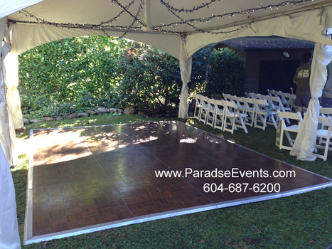 Dance Floor Set up and Service | Wedding DJ Vancouver | Scoop.it