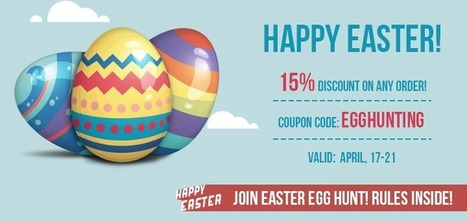 Happy Easter! Join Egg Hunt game! [DISCOUNT] - Amasty Blog   Magento Extensions   Scoop.it